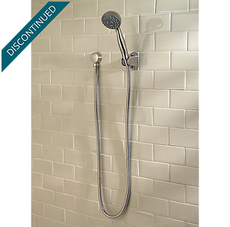 Brushed Nickel Pfirst Series 3-Function Handheld Shower - G16-200K - 2