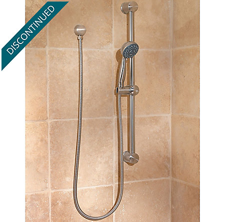 Brushed Nickel Pfirst Series Handheld Showers - 016-300K - 2