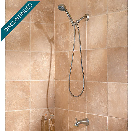 Brushed Nickel Pfirst Series Handheld Showers - 016-300K - 3