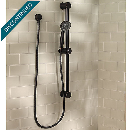 Tuscan Bronze Pfister 3-Function Handheld Shower  - G16-300Y - 2