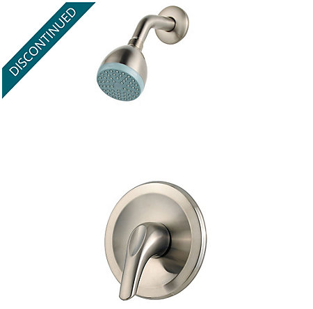 Brushed Nickel Pfirst Series 1-Handle Shower, Trim Only - G89-020K - 1