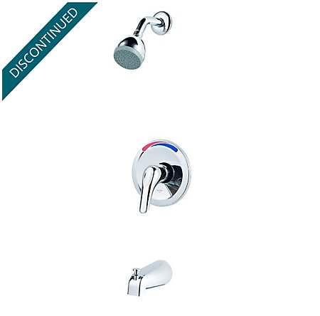 Polished Chrome Pfirst Series 1-Handle Tub & Shower, Trim Only  - G89-0300 - 1