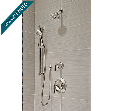 Polished Nickel Iyla 1-Handle Tub & Shower, Trim Only - G89-8TRD - 2