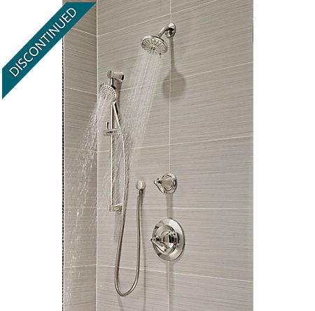 Polished Nickel Iyla 1-Handle Tub & Shower, Trim Only - G89-8TRD ...