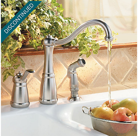 Stainless Steel Marielle 1-Handle Kitchen Faucet - GT26-3NSS - 2