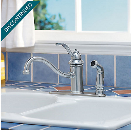 Stainless Steel Marielle 1-Handle Kitchen Faucet - GT34-3TSS - 2