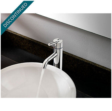 Polished Chrome Contempra Single Handle Vessel Faucet - GT40-NC00 - 3