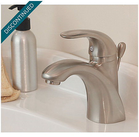 Brushed Nickel Parisa Single Control, Centerset Bath Faucet - GT42-AMCK - 2
