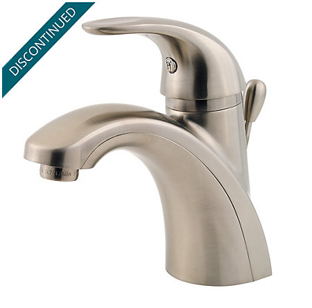 Brushed Nickel Parisa Single Control, Centerset Bath Faucet - GT42-AMCK - 1