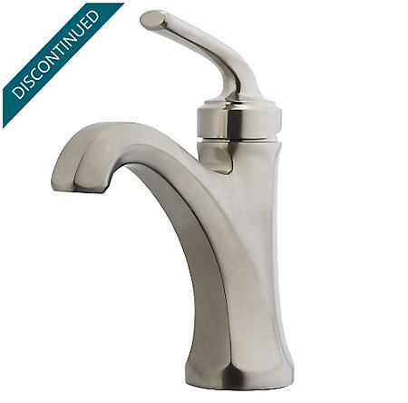 Brushed Nickel Arterra Single Control Lavatory Faucet - GT42-DE0K - 1