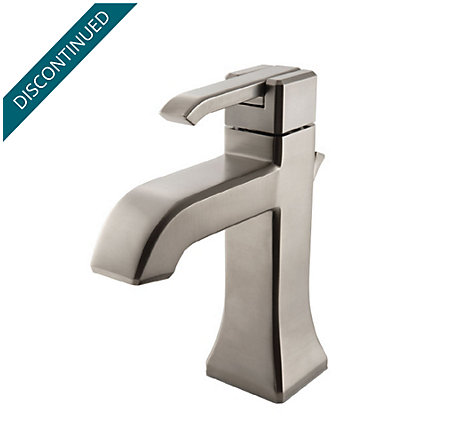 Brushed Nickel Park Avenue Single Control, Centerset Bath Faucet - GT42-FE0K - 1