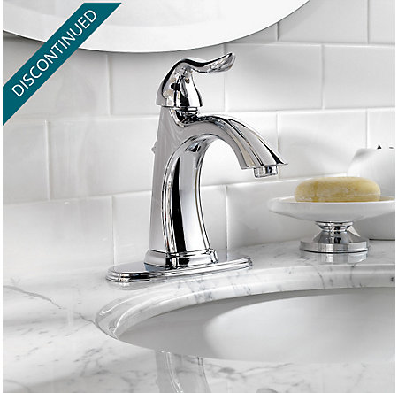 Polished Chrome Santiago Single Control, Centerset Bath Faucet - GT42-ST0C - 4