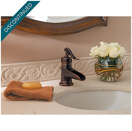 Rustic Bronze Ashfield Single Control, Centerset Bath Faucet - GT42-YP0U - 3