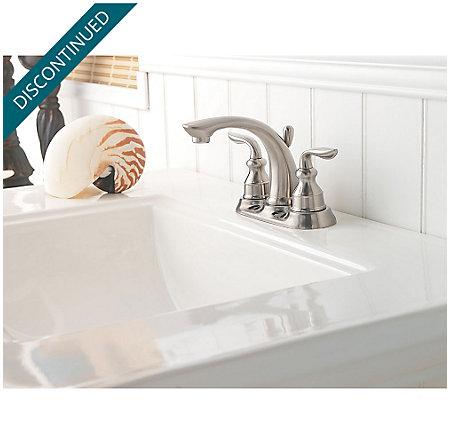 Brushed Nickel Avalon Centerset Bath Faucet - GT48-CB0K | Pfister ...