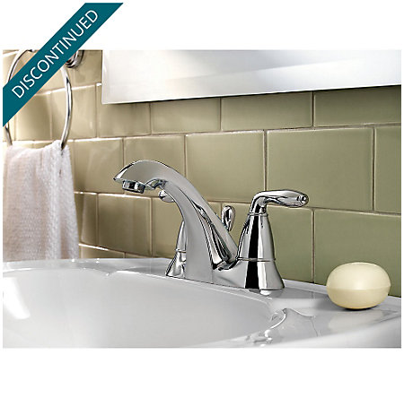Polished Chrome Serrano Centerset Bath Faucet - GT48-SR5C - 2