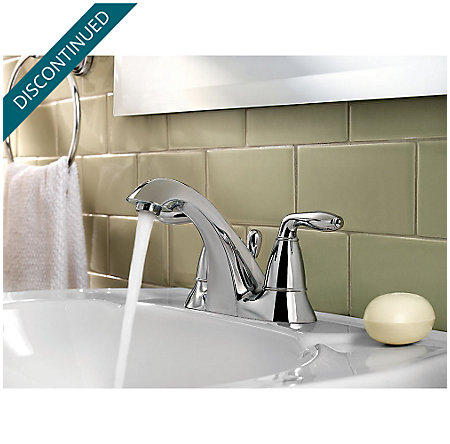 Polished Chrome Serrano Centerset Bath Faucet - GT48-SR5C - 3