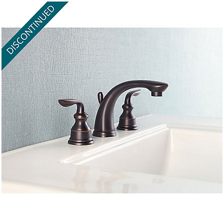 Tuscan Bronze Avalon Widespread Bath Faucet - GT49-CB0Y - 2