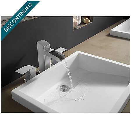 Brushed Nickel Kenzo Widespread Bath Faucet - GT49-DF0K - 2
