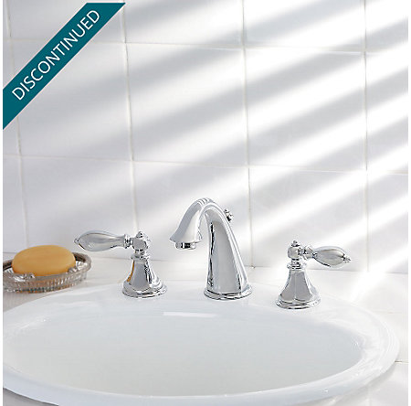 Polished Chrome Catalina Widespread Bath Faucet - GT49-E0BC - 2