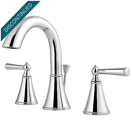 Polished Chrome Saxton Widespread Bath Faucet - GT49-GL0C - 1