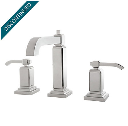 Polished Chrome Carnegie Widespread Bath Faucet - LG49-WE0C - 1
