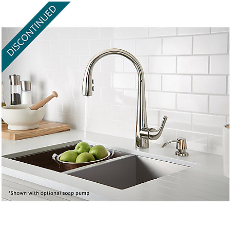 Polished Nickel Alea Pull-Down Kitchen Faucet - GT529-ALD - 4