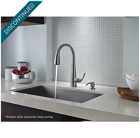 Stainless Steel Alea Pull-Down Kitchen Faucet - GT529-ALS - 5