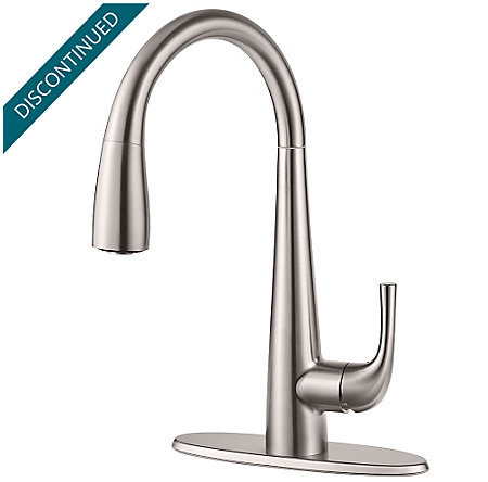 Stainless Steel Alea Pull-Down Kitchen Faucet - GT529-ALS - 2