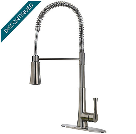 Stainless Steel Zuri Culinary Kitchen Faucet - GT529-MCS - 1