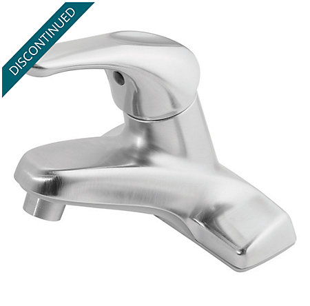 Brushed Chrome 100 Series Centerset, Single Control Bath Faucet - J13-0NBC - 1