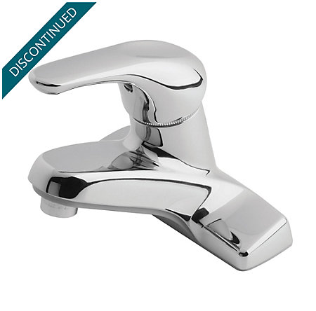 Polished Chrome 100 Series Centerset, Single Control Bath Faucet - J13-0NC0 - 1