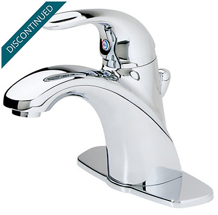Polished Chrome Parisa Single Control, Centerset Bath Faucet - T42-AMCC - 1