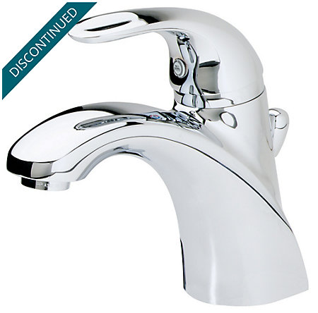 Polished Chrome Parisa Single Control, Centerset Bath Faucet - T42-AMCC - 2