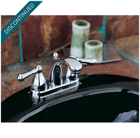 Polished Chrome Parisa Centerset Bath Faucet - J48-A0XC - 4