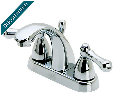 Polished Chrome Parisa Centerset Bath Faucet - J48-A0XC - 1