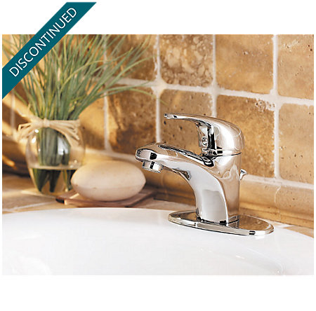 Polished Chrome Pro Series Single Control, Centerset Bath Faucet - PRO-P251 - 4