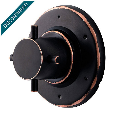 "Tuscan Bronze 3/4"" Thermostatic Trim - R79-600Y - 1"