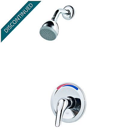 Polished Chrome Pfirst Series 1-Handle Shower, Trim Only  - R89-0200 - 1