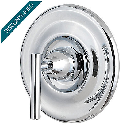 Polished Chrome Contempra Tub & Shower Valve Only Trim - R89-1NC0 - 1
