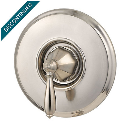 Brushed Nickel Portola Valve, Trim Only - R89-1RPK - 1
