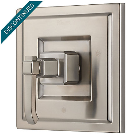 Brushed Nickel Carnegie Valve, Trim Only - R89-1WEK - 1