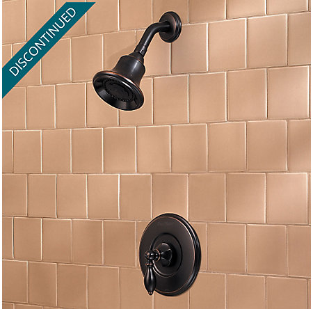 Tuscan Bronze Catalina 1-Handle Shower, Trim Only - R89-7EBY - 2