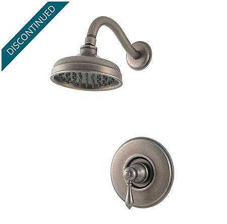 Rustic Pewter Marielle Shower Only - R89-7MBE - 1