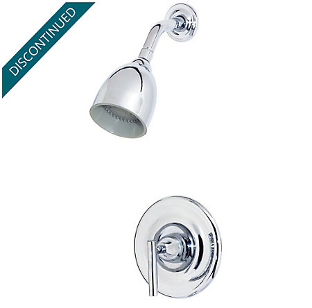 Polished Chrome Contempra Shower Only - G89-7NC0 - 1