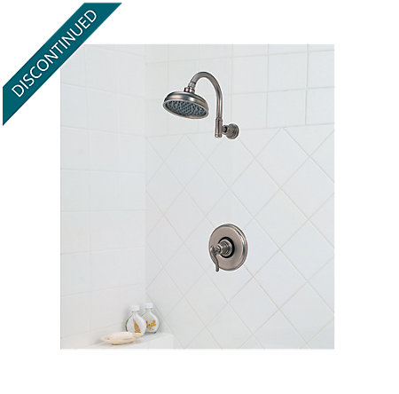 Rustic Pewter Ashfield Shower Only - R89-7YPE - 2