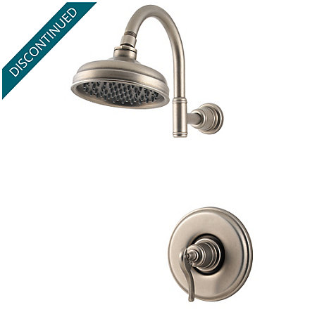 Rustic Pewter Ashfield Shower Only - R89-7YPE - 1