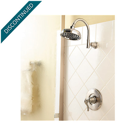Brushed Nickel Ashfield 1-Handle Shower, Trim Only - R89-7YPK - 2