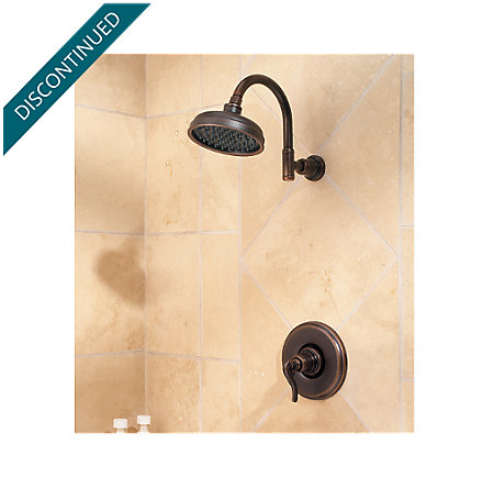 Rustic Bronze Ashfield 1-Handle Shower, Trim Only - R89-7YPU - 2