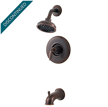 Rustic Bronze Avalon Trim - Tub and Shower - R89-8CBU - 1