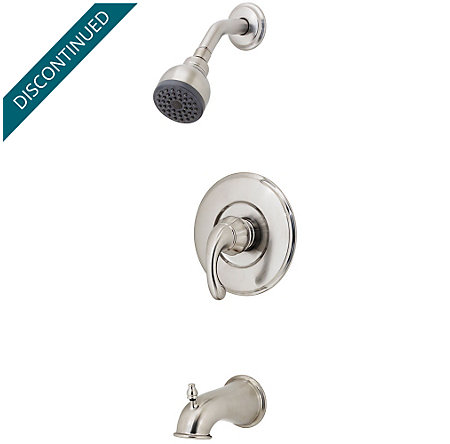 Brushed Nickel Treviso 1-Handle Tub & Shower, Trim Only - R89-8DK0 - 1